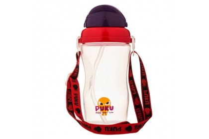 Puku - Space Silding Cover Baby Canteen 340ml (Red)