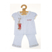 Budding - NOMOS Anti-Mosquito Apparel Short Sleeve & Long Pant Girl (Blue)