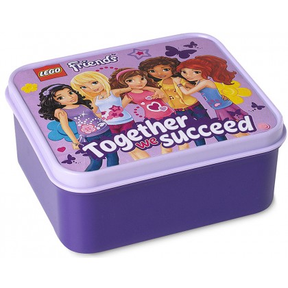 LEGO - Friends Lunch Box Lavender