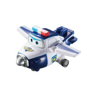 Super Wings Toy: Mini Change `Em Up ! Paul