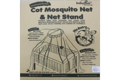 Babylove - Mosquito Net With Stand