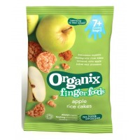 Organix Finger Food - Apple Rice Cakes 7m+ (50g)