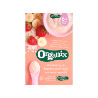 Organix - Strawberry & Banana Porridge 6m+ (120gm)