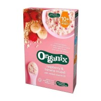 Organix - Respberry and Banana Muesli 10m+ (200g)
