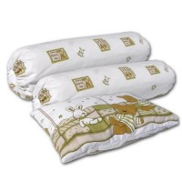 Bumble Bee - Pillow and Bolster Set
