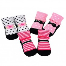 Luvable Friends - Novelty Sock Gift Set 0-9 Months (3 Pair)