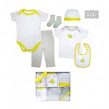 Hudson Baby - Layette Box Set 6pcs Bee
