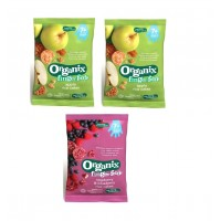 Organix Finger Food - Apple + Raspberry Rice Cakes 7m+ (50g)