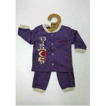 Budding - Nomos Anti-Mosquito Apparel Long Sleeve & Long Pant (Purple)