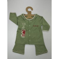 Budding - Nomos Anti-Mosquito Apparel Long Sleeve & Long Pant Girl (Green)
