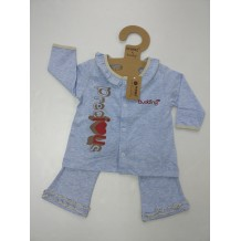 Budding - Nomos Anti-Mosquito Apparel Long Sleeve & Long Pant Girl (Blue)