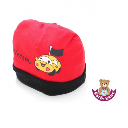 Earth Bebe - Vroom Bennie Hat Red
