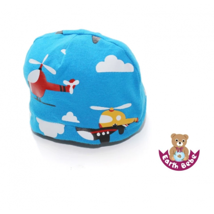 Earth Bebe - Helicopter Bennie Hat Blue