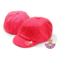 Earth Bebe - Lady Bug Cap Red