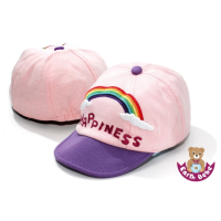 Earth Bebe - Happiness Cap Purple Peach