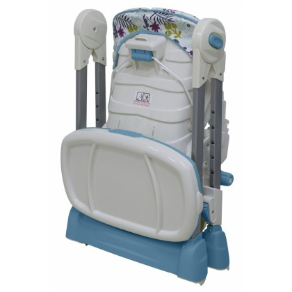 Bubbles - Garden Blue High Chair
