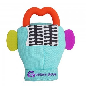 Gummee Glove - Teething Mitten Blue