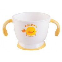 Piyo Piyo - Two Handle Slip Resistant Mug (120ml/40z)