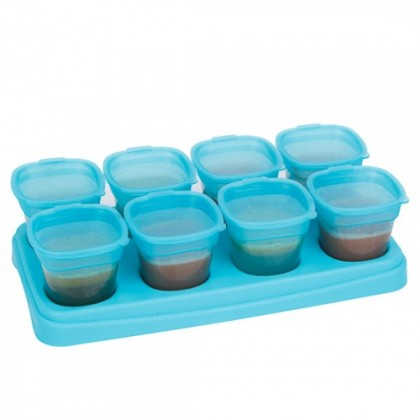 Autumnz - Baby Food Storage Cup 2oz Blue