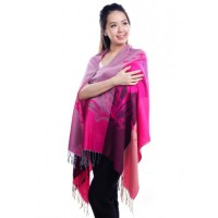 Autumnz Nursing Wrap - Bloom Pink
