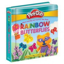 Play-Doh - Padded Board Book: Rainbow Butterflies