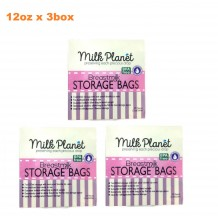 Milk Planet - Double Ziplock Breastmilk Storage Bag (12oz x 3Box)