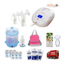 Cimilre - S3 Hospital Grade Double Breast Pump Extravaganza Package
