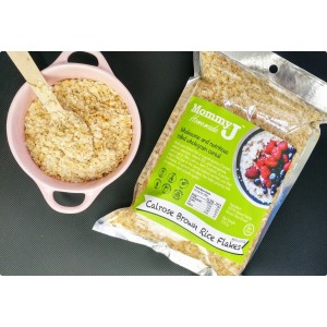 MommyJ - Calrose Brown Rice Flakes 350g (8m+)