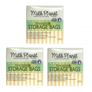 ​Milk Planet - Double Ziplock Breastmilk Storage Bag (7oz x 3box)