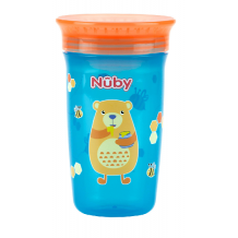 Nuby - 360 Wonder Cup 300ml (Orange)