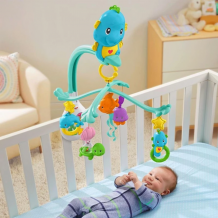 Fisher Price - 3 in 1 Soothe & Play Seahorse Mobile