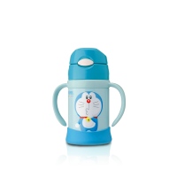 Thermos - Doraemon Straw Cup With Handle 250ml