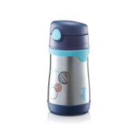 Thermos - Foogo Straw Bottle 10oz (Blue Circle)