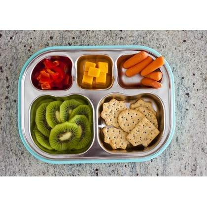 Kangovou - Compartment Plate Iced Mint