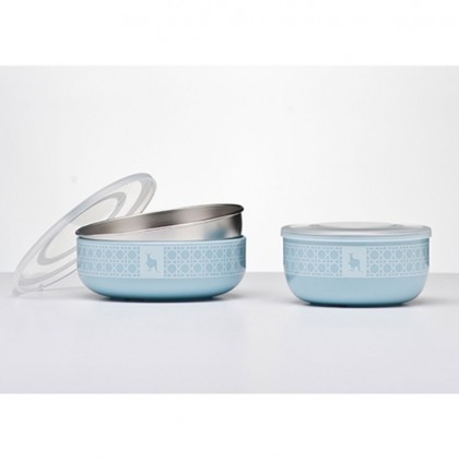 Kangovou - Snack Bowls 10oz Frosted Blueberry