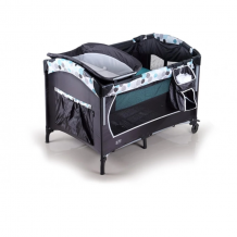 My Dear - Baby Playpen with Side Slide Door 26014 (Circle)