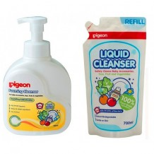 Pigeon - Foaming Cleanser 700ml + Refill 700ml