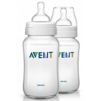 Avent - Classic+ Bottle 11oz / 330ml Twin Pack