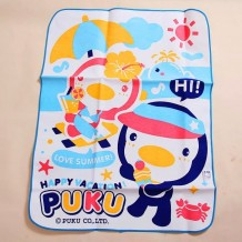 Puku Baby Waterproof Sheet 60x80cm (Blue)