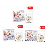 Autumnz - Double ZipLock Breastmilk Storage Bag (25 bags) *5oz x3*
