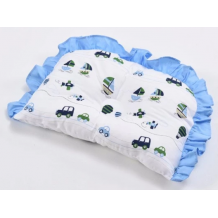 Babylove premium 4950 Pillow With Hole (C/Blue)