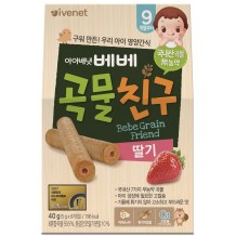 Ivenet Bebe Grain Friends 40g (Strawberry) 9m+