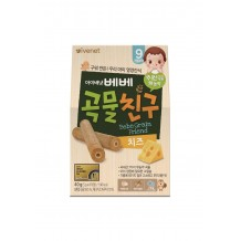 Ivenet Bebe Grain Friends 40g (Cheese) 9m+