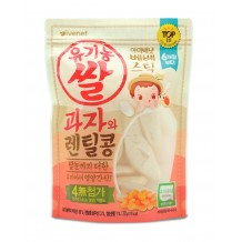 Ivenet Bebe Stick Rice Crackers 30g (Lentil) 6m+