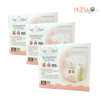 Tiny Touch Breast Milk Storage Bag with Spout (8oz/250ml) * 3box