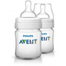 Avent Classic Bottle 125ml/4oz Twin