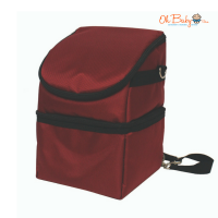 Lacte Mobi B/Pump Cooler Bag - Red