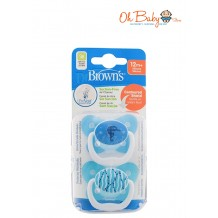 Dr.Brown's Prevent Butterfly Soother Stage 3 (2pcs) Blue
