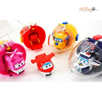 Super Wings Toy Egg Launcher