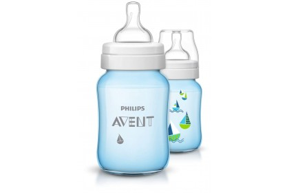 Avent Classic+ Printed Bottle 260ml/9oz